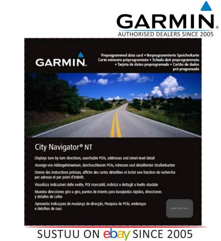 Garmin 010-11550-00 City Navigator NT Middle East & North Africa Maps on SD Card Thumbnail 1