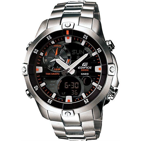 Casio Moon Tide Graph Tough Scratch Resistant Gent's Watch EMA-100D-1A1VEF