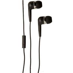 Groov-e Mobile Buds Stereo Earphones with Microphone - Black GVEB4BK