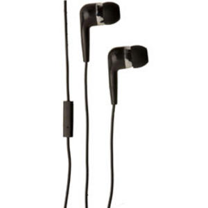 Groov-e Mobile Buds Stereo Earphones with Microphone - Black GVEB4BK Thumbnail 1