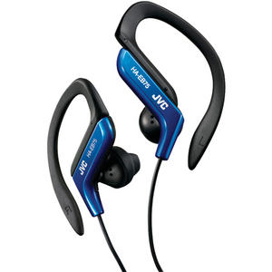 JVC Sport Running EarClip Earphone/Headphone Adjustable Clip Blue FAST DELIVERY Thumbnail 1