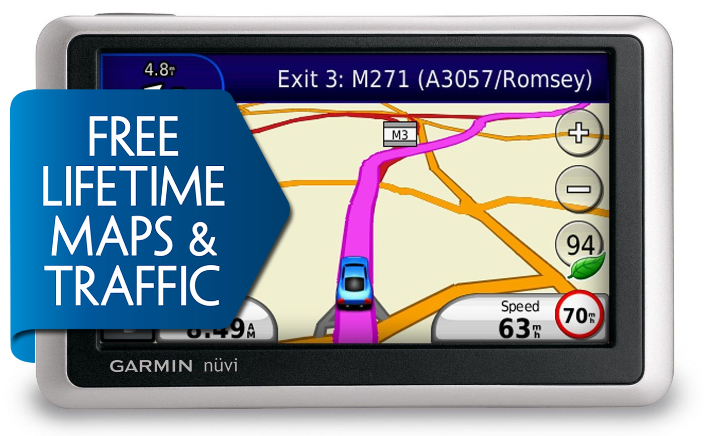 Garmin Nuvi 1340lmt Gps Satnav Free Lifetime Europe Map