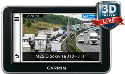Garmin NuLink 2340 LIVE GPS SATNAV UK & Europe 3D HD Traffic & Bluetooth Calling