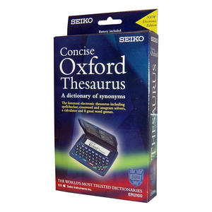 Seiko Concise Oxford Electronic Thesaurus Crossword Solver Spell Checker ER2100 Thumbnail 3