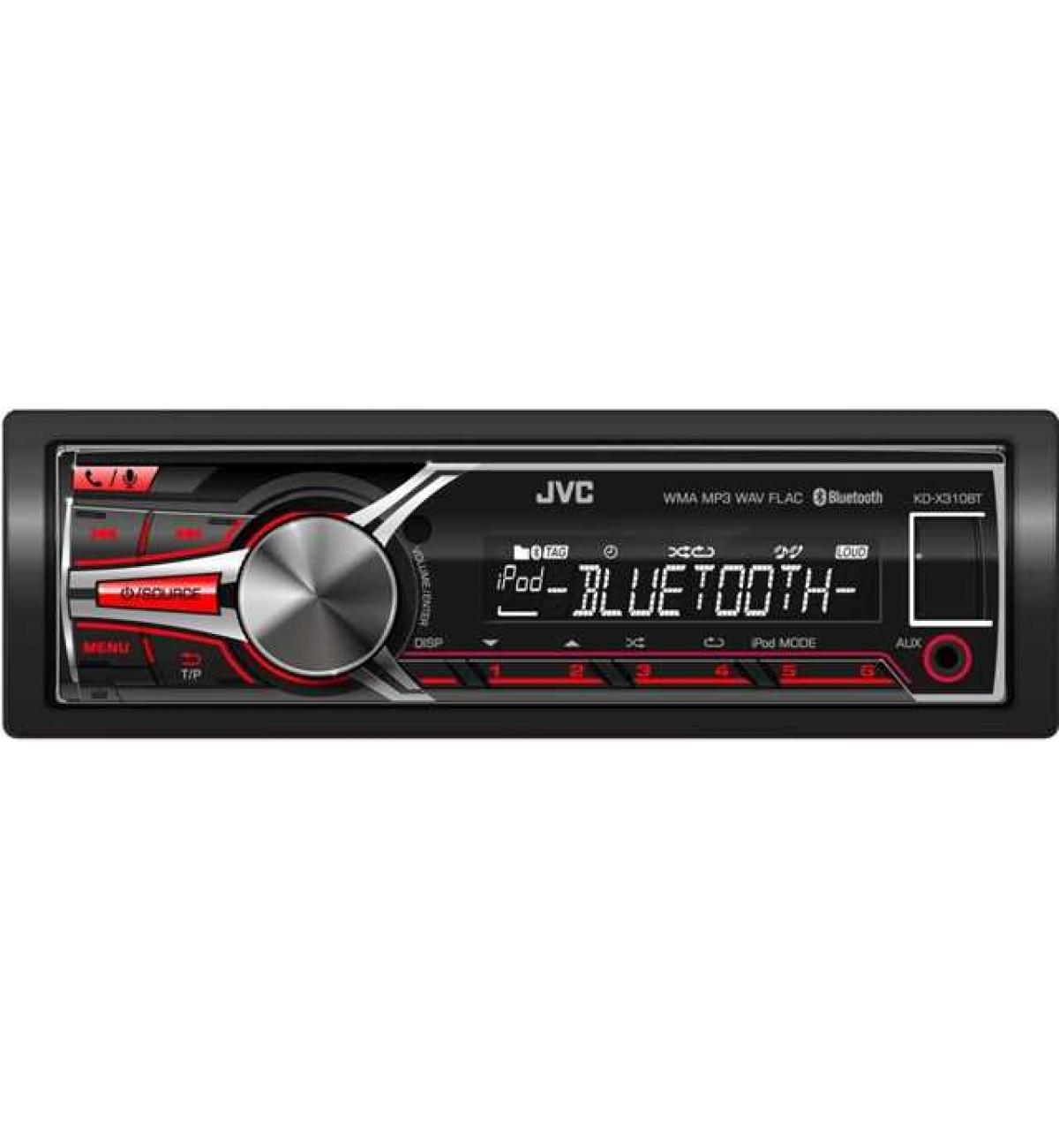 JVC KD X310BT In Car Vehicle Audio IPod USB Sound System
