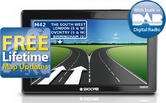 Snooper Truckmate Pro Sound DB8500 TRUCK GPS SATNAV Full Europe Maps + DAB & TV