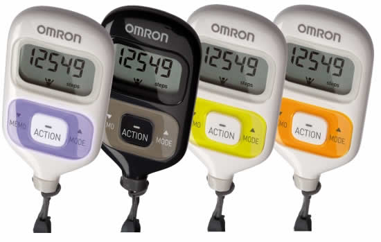 Omron Hj 203 Pedometer Instructions