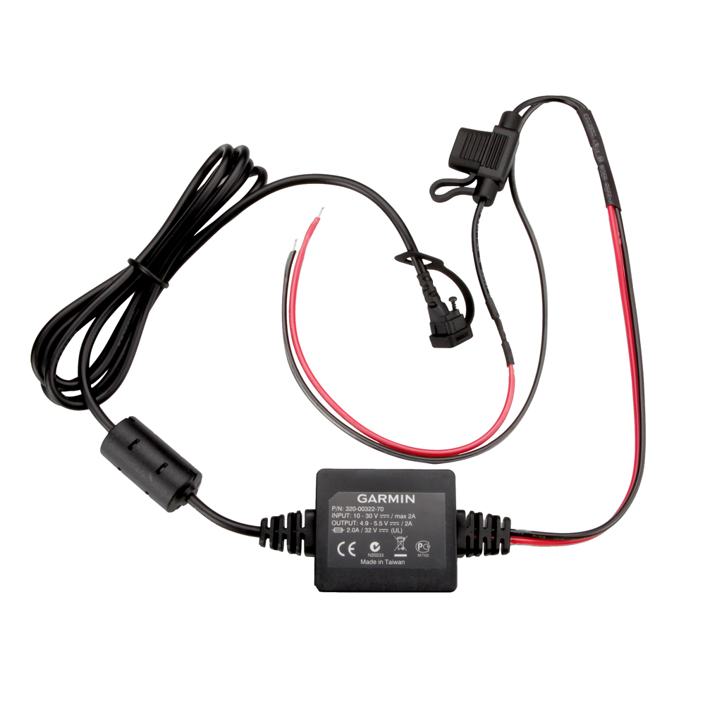 Garmin Motorcycle Power Lead Charger Cable Zumo 340LM 350LM 390LM 010-11843-01