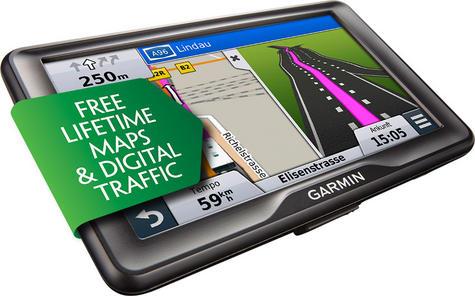 "Garmin Camper 760LMT-D 7"" Motorhome Caravan GPS Lifetime Maps & Digital Traffic Thumbnail 1"