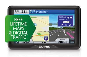 "Garmin Camper 760LMT-D 7"" Motorhome Caravan GPS Lifetime Maps & Digital Traffic Thumbnail 2"