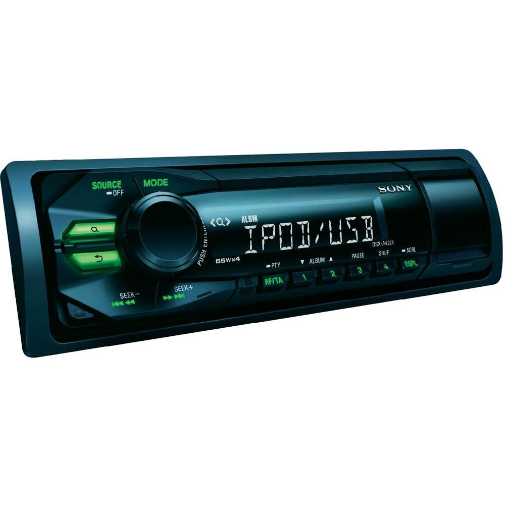 sony dsx a42ui in car vehicle audio ipod usb sound system. Black Bedroom Furniture Sets. Home Design Ideas