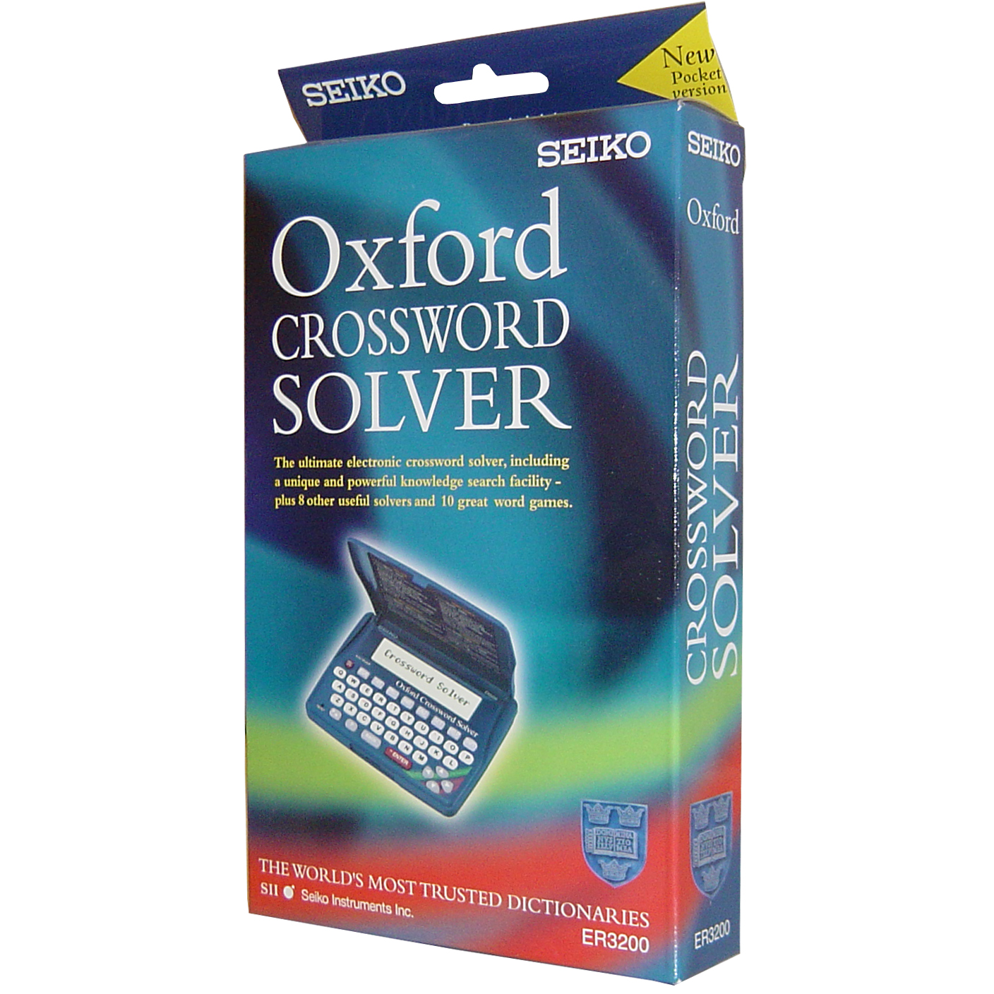 Seiko Electronic Oxford Crossword Anagram Solver Spell Checker Thesaurus ER3200