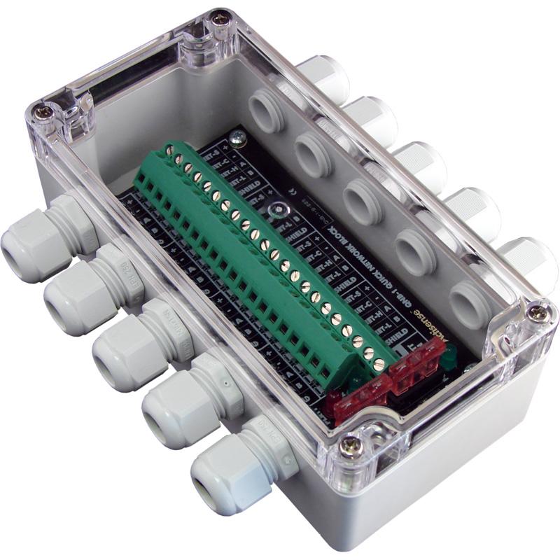 Actisense QNB-1 NMEA 2000 Quick Network Block, Breakout box - 6 screw terminal d