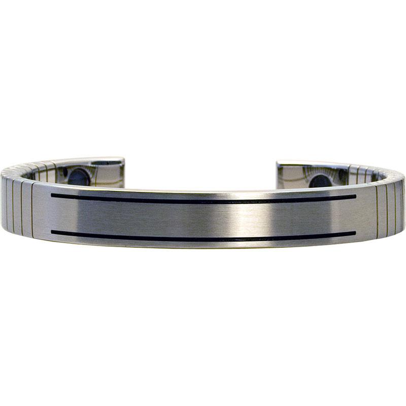 Q-Link SRT-3 Bracelet - Stainless Steel (Brushed) - Men's Medium