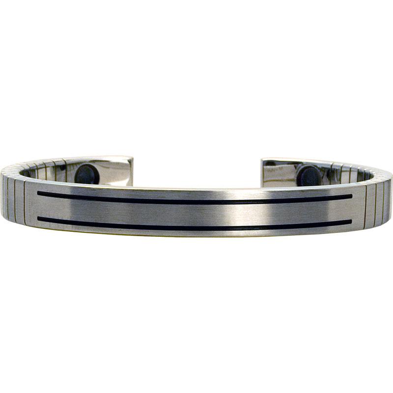 Q-Link SRT-3 Bracelet - Stainless Steel (Brushed) - Women's Medium