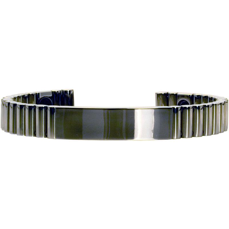 Q-Link SRT-3 Bracelet - Titanium (Polished) - Unisex Medium