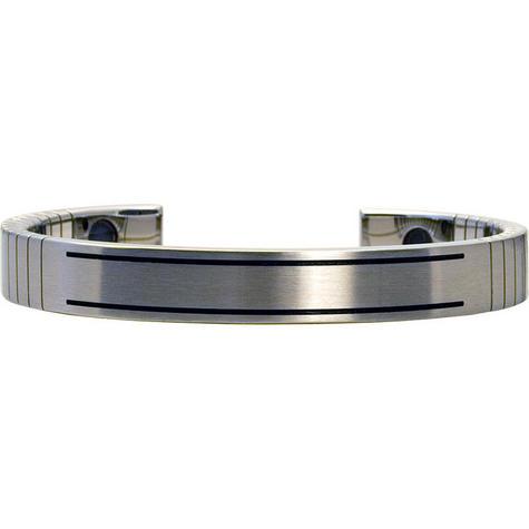Q-Link SRT-3 Bracelet - Stainless Steel (Brushed) - Men's Medium Thumbnail 1
