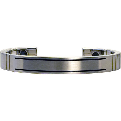 Q-Link SRT-3 Bracelet - Stainless Steel (Brushed) - Men's Large Thumbnail 1