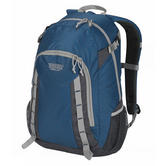 Wenzel Daypacker Daypack 25 Litres - True Blue Polyester Travel Carry Bag NEW