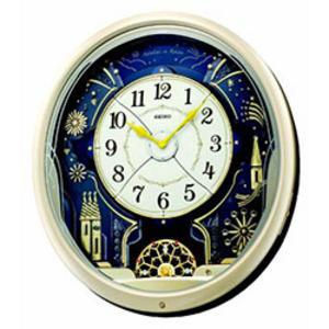 Seiko Melody in Motion Wall Clock QXM239S Thumbnail 1