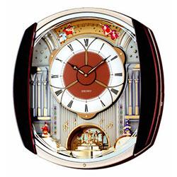 Seiko Melody in Motion Wall Clock - 12 Melodies QXM250B
