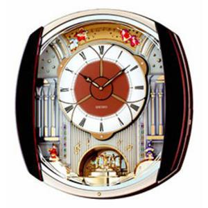 Seiko Melody in Motion Wall Clock - 12 Melodies QXM250B Thumbnail 1