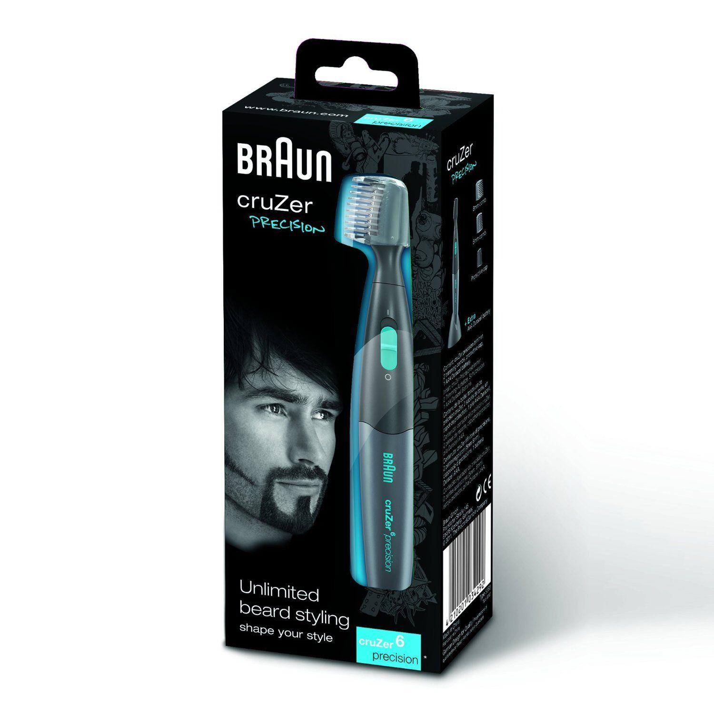braun cruzer 6 precision 2 in 1 beard trimmer electric dental care ebay. Black Bedroom Furniture Sets. Home Design Ideas