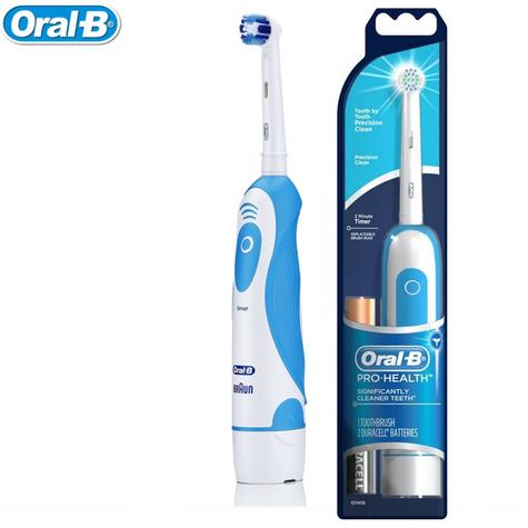 Braun Oral-B Pro Health Dental Care Precision Clean Battery Electric Toothbrush Thumbnail 1