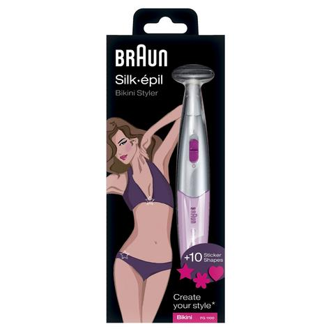 Braun Bikini Styler & Shaver - Pink Ladies Electric Shaver Razor Blade Thumbnail 3
