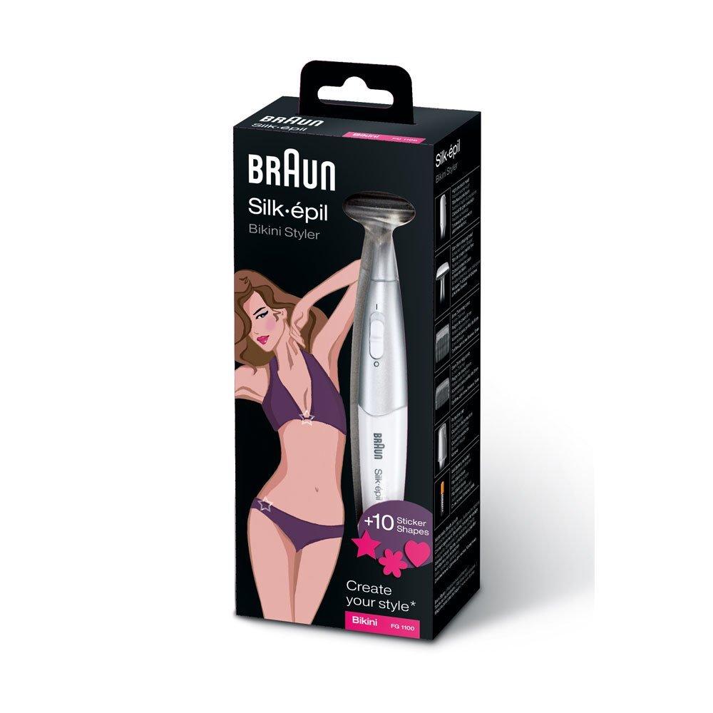 Braun Silk Epil Bikini Eyebrow Styler FG1100 Ladies Electric Shaver Hair Remover