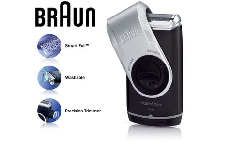 Braun M90 Mobile Mini Portable Travel Shaver Precision Trimmer Electric Razor Thumbnail 1