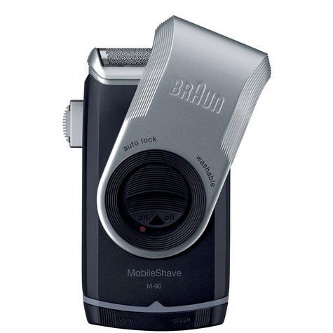 Braun M90 Mobile Mini Portable Travel Shaver Precision Trimmer Electric Razor Thumbnail 3