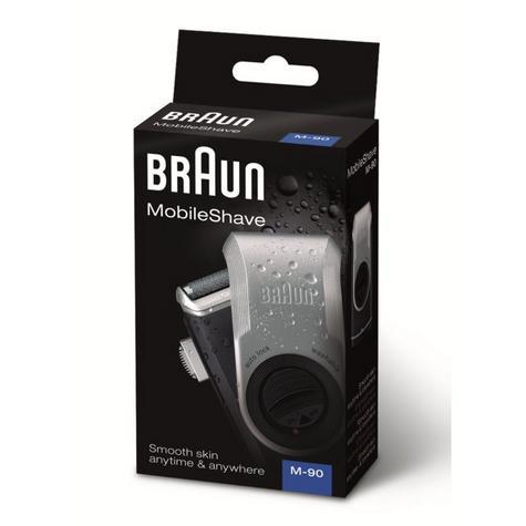 Braun M90 Mobile Mini Portable Travel Shaver Precision Trimmer Electric Razor Thumbnail 5