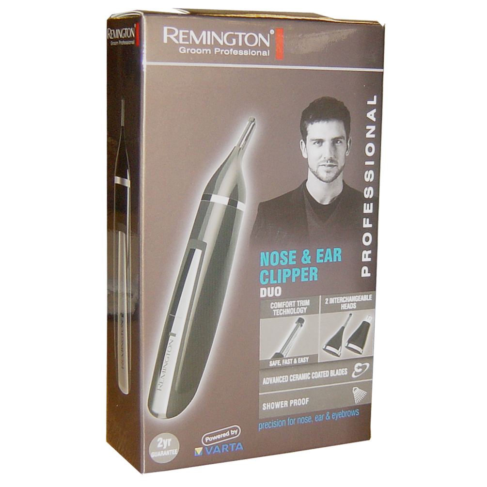 Remington Nose Nasal Ear Eyebrows Washable Hair Clipper Trimmer NE3350 NEW