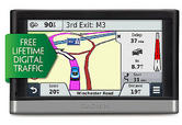 Garmin Nuvi 2408 LT-D GPS SATNAV + Lifetime Digital 3D Traffic UK Ireland Maps