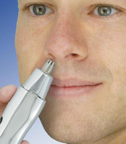 Wahl Dual Head Battery Powered Wet & Dry Nasal Ear Facial Hair Clipper Trimmer Thumbnail 6