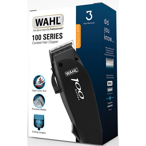 WAHL NATION 100 SERIES POWERFUL ELECTRIC CLIPPER SHAVER TRIMMER KIT 79233-017 Thumbnail 4