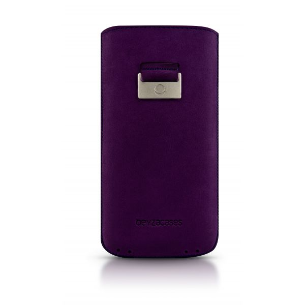Beyzacases Retro Strap Plus Case for Apple iPhone 5/s in Purple