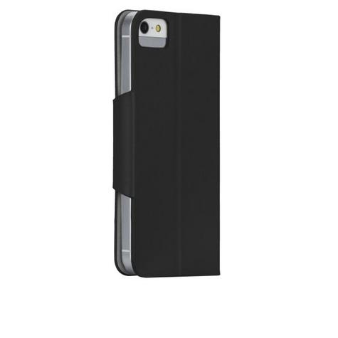 Case-Mate Slim Folio Case Cover Viewing stand for Apple iPhone 5/5s in Black Thumbnail 1