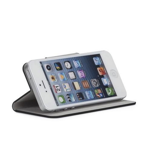 Case-Mate Slim Folio Case Cover Viewing stand for Apple iPhone 5/5s in Black Thumbnail 4