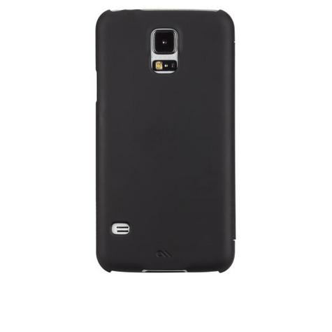 Case-Mate Slim Folio Cases for Galaxy S5 in Black Thumbnail 1