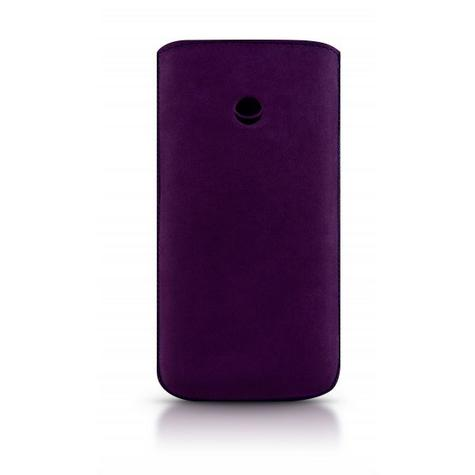 Beyzacases Retro Strap Plus Case for Apple iPhone 5/s in Purple Thumbnail 2