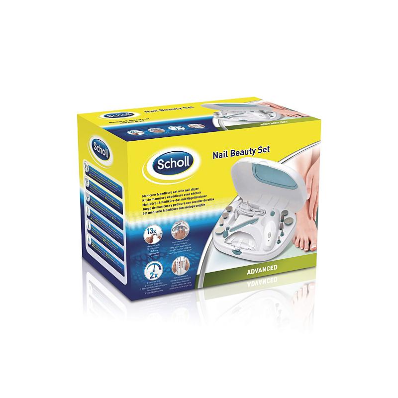 Maniku00fcre + Pediku00fcre Set Scholl Advanced Nail Beauty + Nagel Trockner DRSP3570UK | EBay