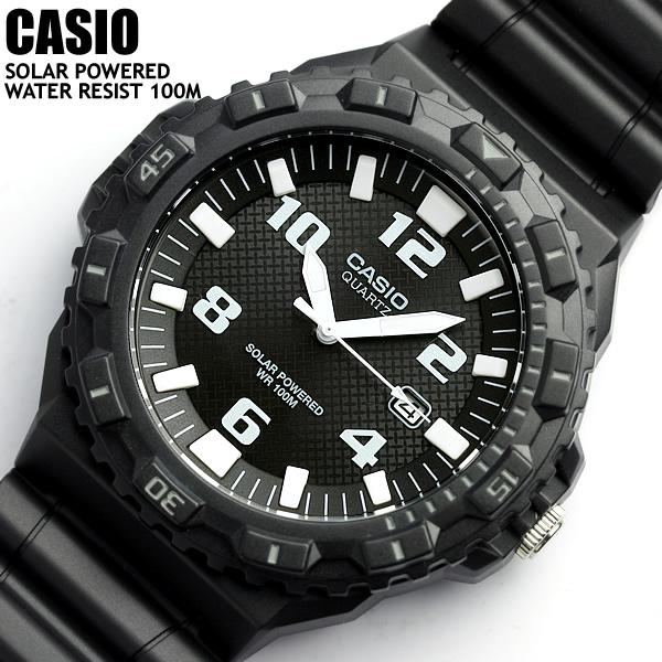 Casio Solar Powered 100 M Water Resistant MRW S300H 1BVEF