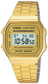 Casio A168WG-9EF Retro Gold Colour Digital LCD Watch