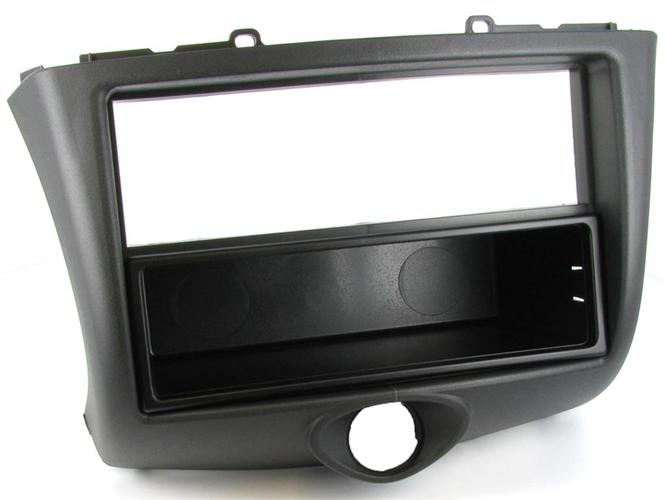 C2 24TY06 Single Din Car Fascia Adapter Panel(Black)Toyota Yaris 2003 To 2006