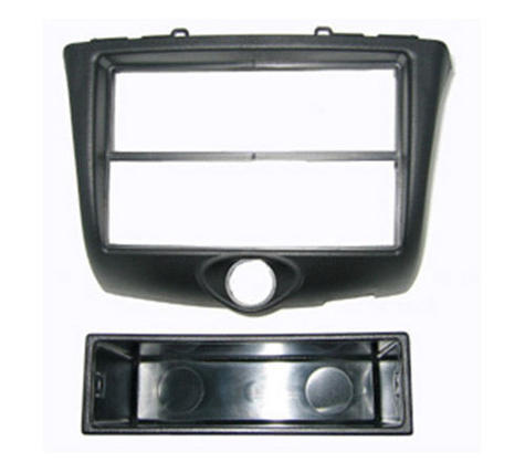 C2 24TY06 Single Din Car Fascia Adapter Panel(Black)Toyota Yaris 2003 To 2006  Thumbnail 2