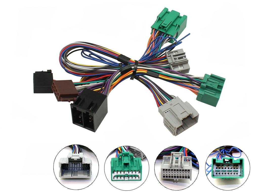 C2 10VX07 Parrot Bluetooth SOT T-Harness ISO Adaptor For Vauxhall/Insignia 2013>