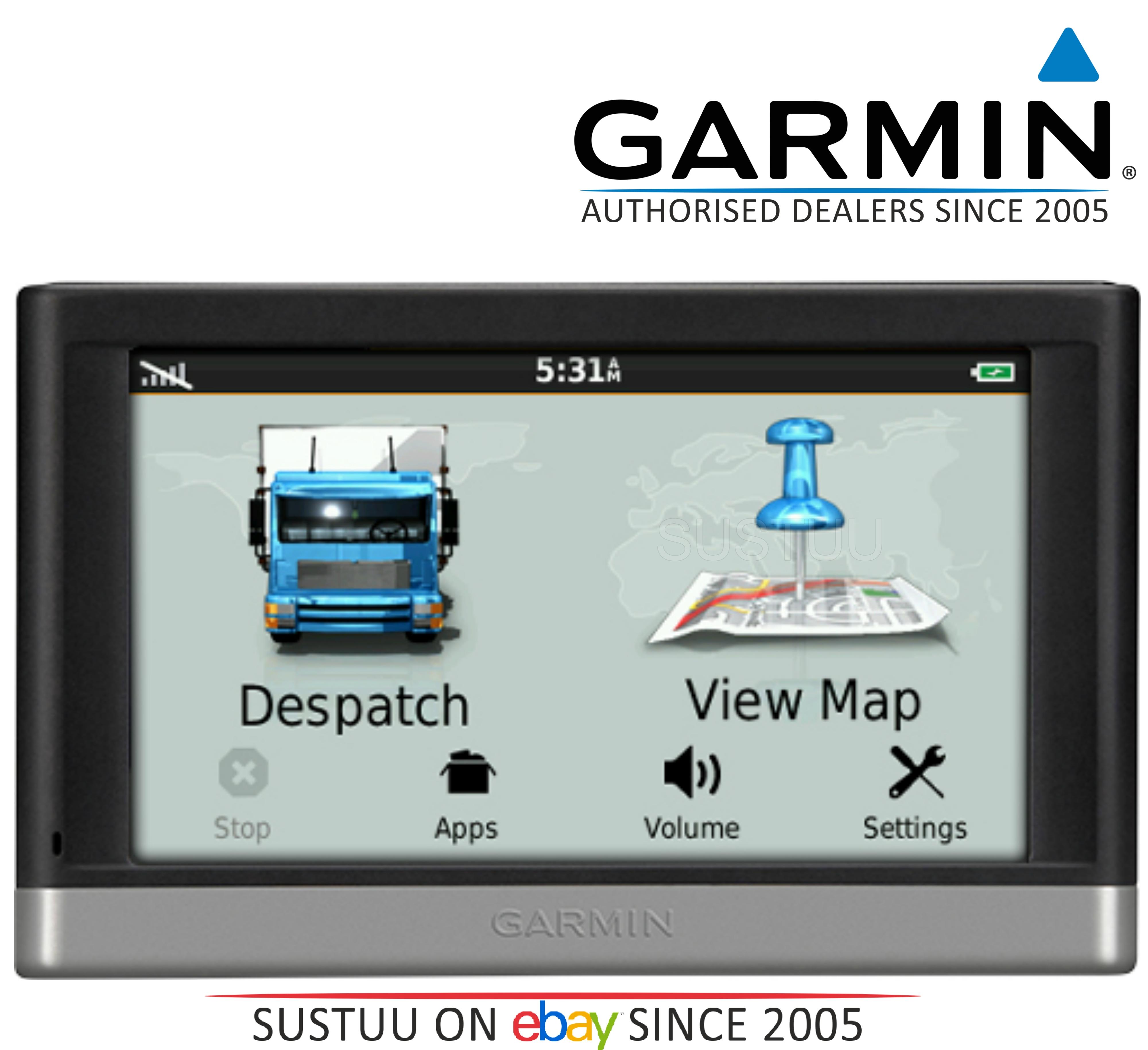 """Garmin Fleet Enterprise FE20D-25  5"""" GPS SatNav Lifetime UK/IRE Maps & Traffic"""