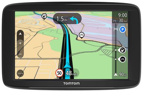 "Tomtom Start 62 6"" GPS SATNAV Free Lifetime UK & Western Europe Maps 1AA6.054.00 Thumbnail 1"